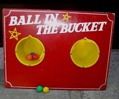 Ball In Bucket Hire Ball In Bucket Stall Hire Ball In